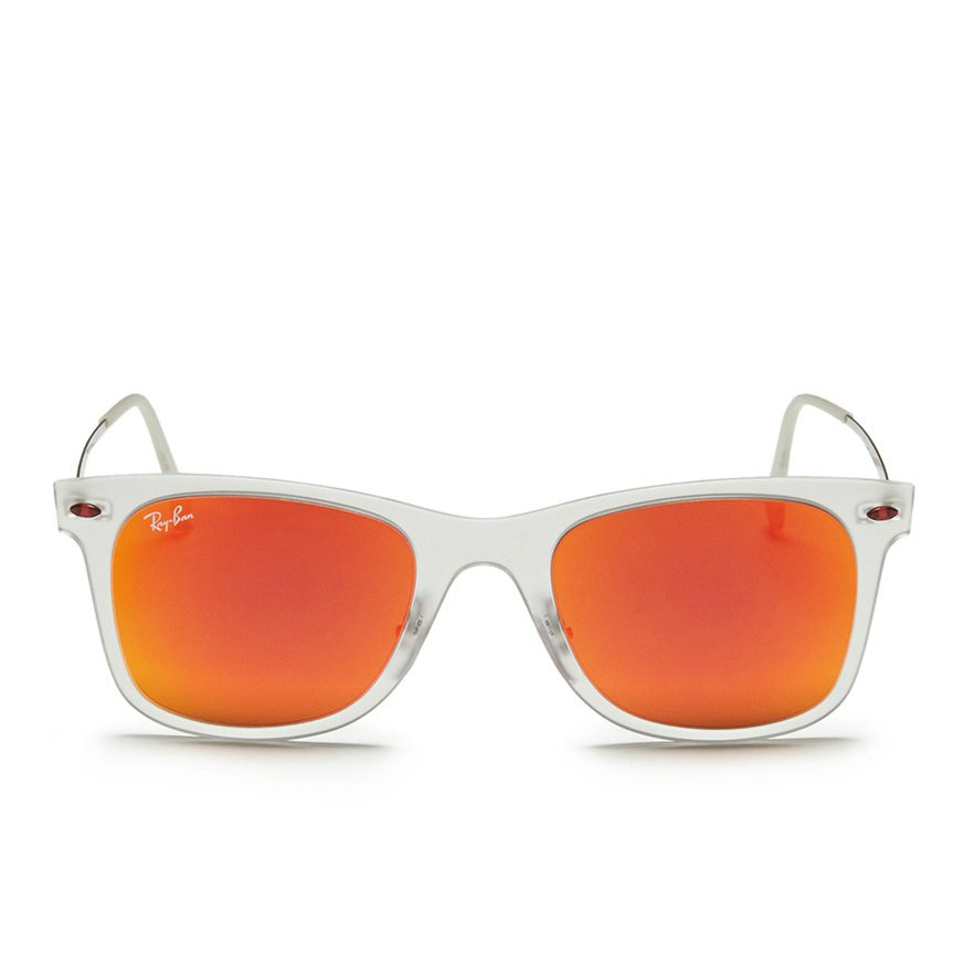 Ray-Ban Wayfarer White and Orange