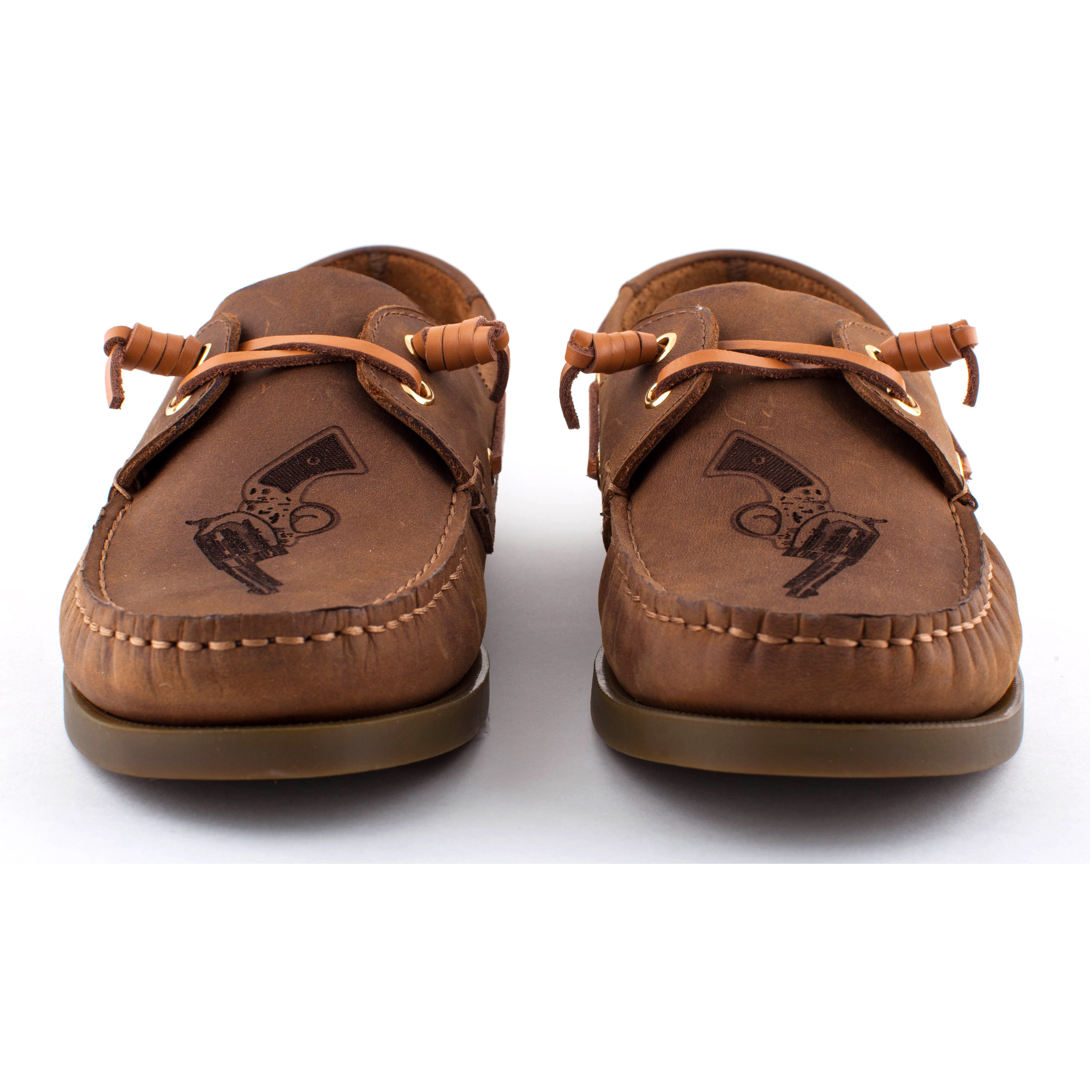 Annie Oakleys Boat Shoes Brown