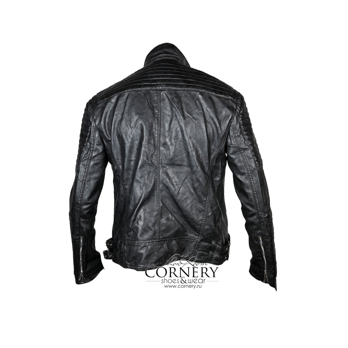 Philipp Plein Leather Jacket