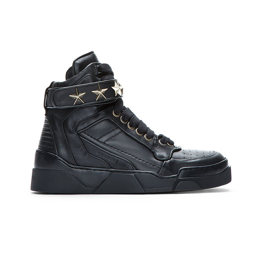Givenchy Star High Top Sneakers