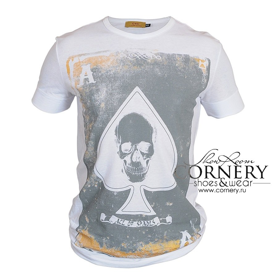 Архив Costume National T-Shirt Ace Of Spades