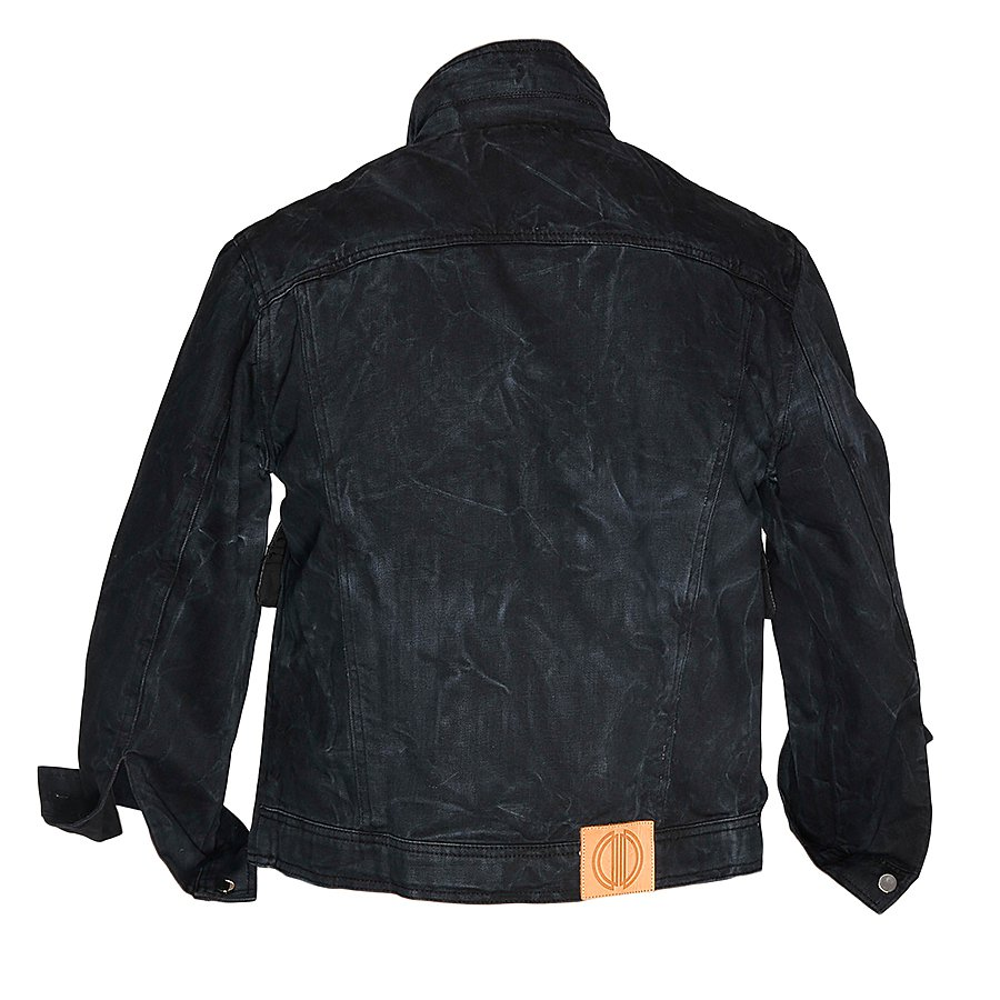 Damir Doma Jeans Jacket Leather panel