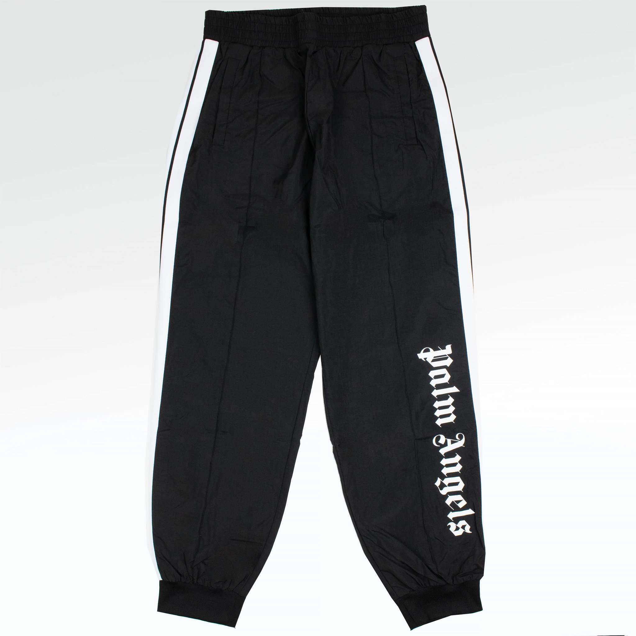 Штаны Штаны Palm Angels Oversize Logo Black Track Pants