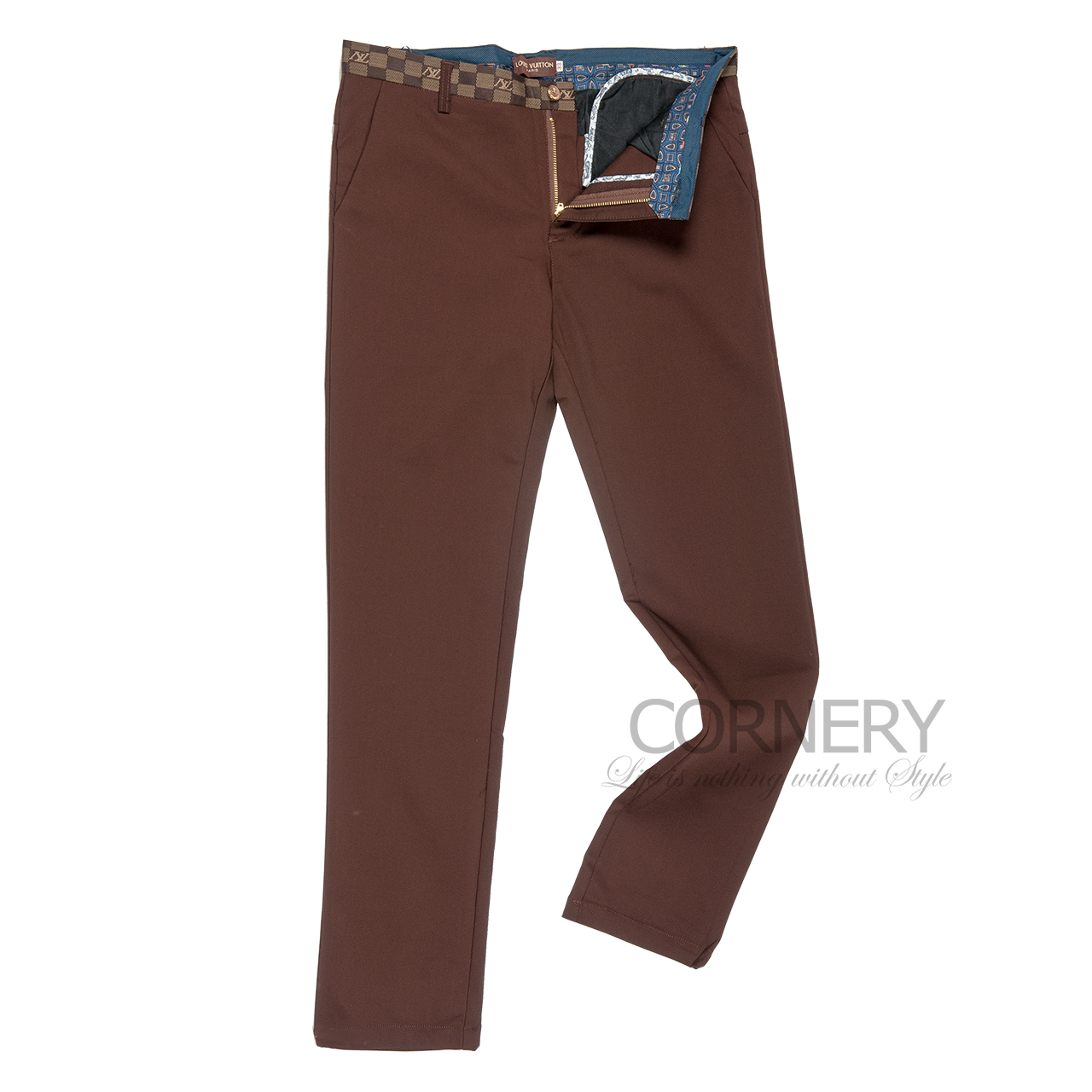 Louis Vuitton Brown Pants