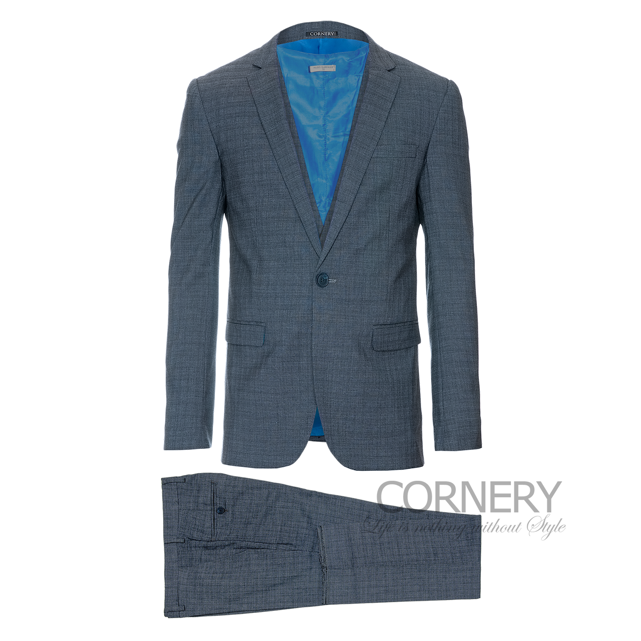 Cornery Three-Piece Suit