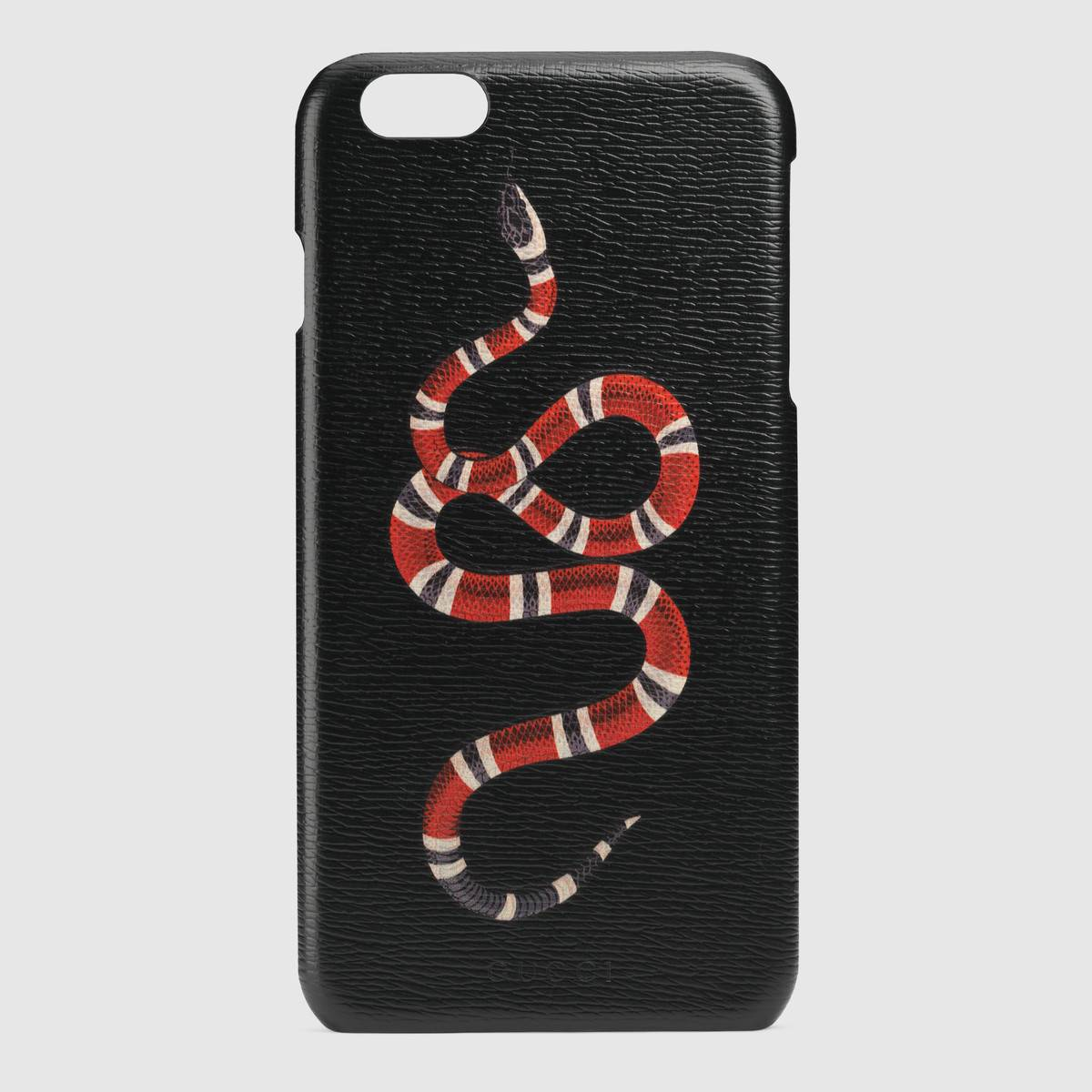 Дополнения Gucci Kingsnake print iPhone case