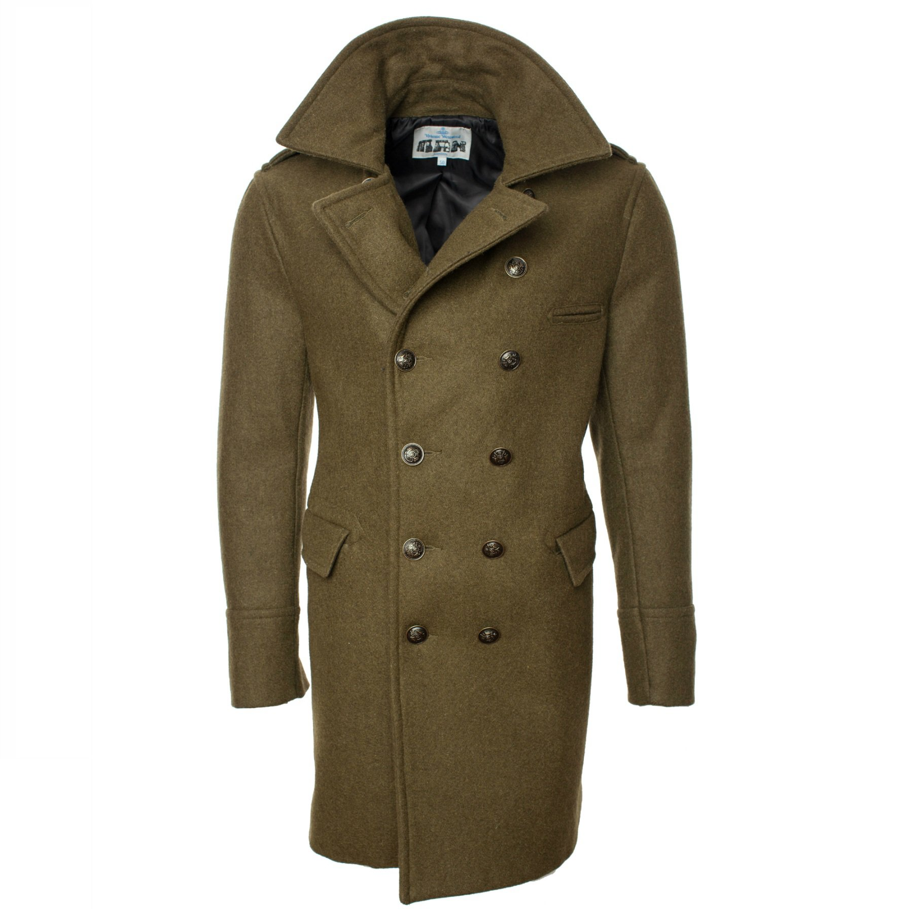VIVIENNE WESTWOOD Double Breasted Pea Coat