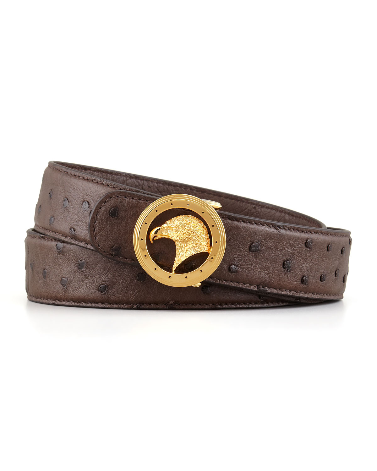 Ремни  Stefano ricci Eagle Head Brown