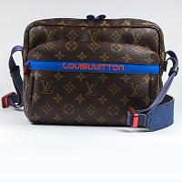 Сумка Louis Vuitton Monogram Brown/Pacific Outdoor Messenger Pm