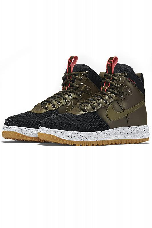 Nike Lunar Force 1 Duckboot Dark Loden