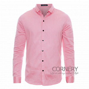 Cornery Shirt Blue Pink