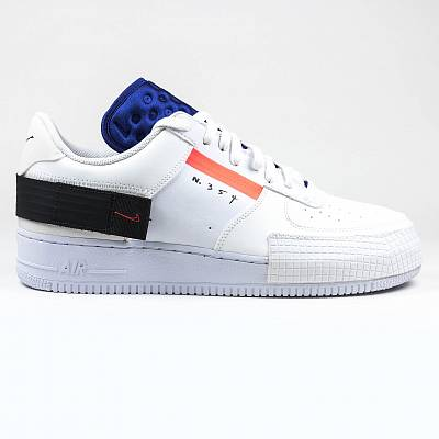 Кроссовки Nike Air Force 1 Type Summit Red Orbit White Sneaker