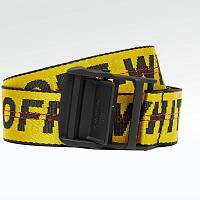 Ремень Off White Industrial Belt Black Yellow
