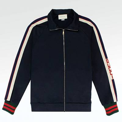 Куртка Gucci Technical Jersey Jacket Navy
