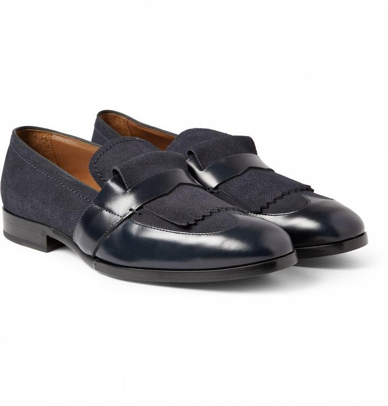 Jimmy Choo Blue Loafers