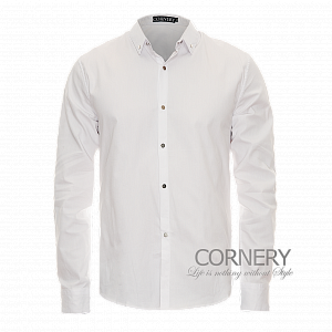 Cornery Shirt White