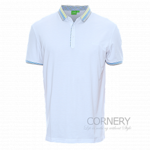 Hugo Boss White Polo
