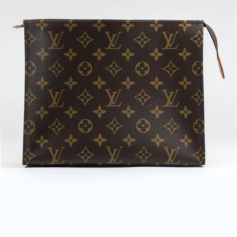 Косметичка Louis Vuitton Pochette Toiletry Pouch 26 Monogram Brown