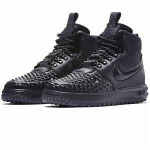Nike Lunar Force 1 Duckboot Winter Triple Black