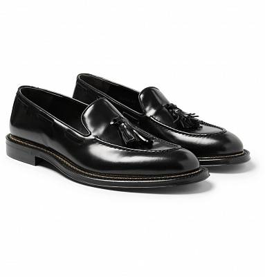 Saint Laurent Black Loafers