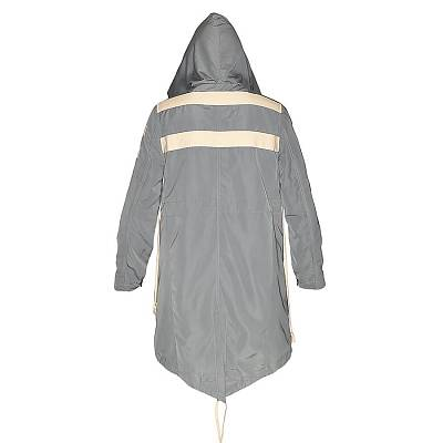 Rick Owens Geowebbed Ovearcoat Parka