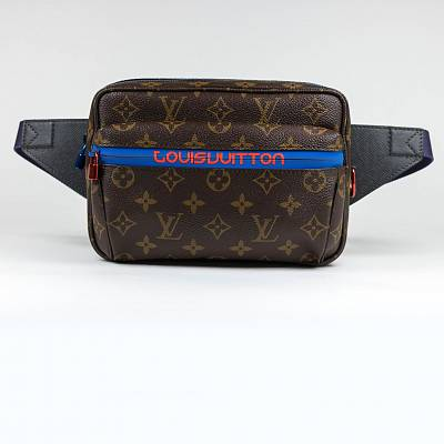 Сумка Louis Vuitton Outdoor Bum Bag PM Monogram Brown