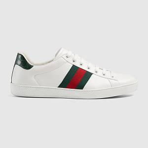 Gucci Ace leather low-top