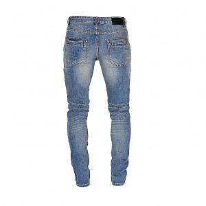 PIERRE BALMAIN Super SLIM-FIT BIKER JEANS