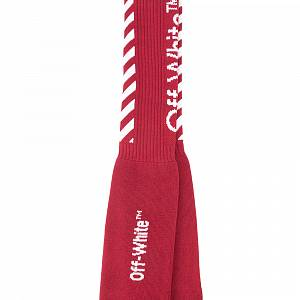 Off White Socks Red
