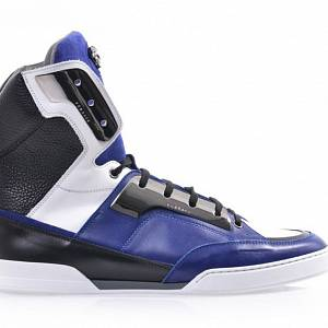 Versace high-top trainers