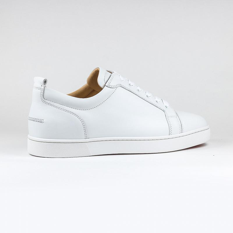 Кроссовки Christian Louboutin Louis Junior Calf Leather White