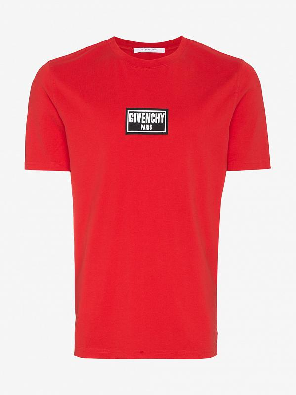 Givenchy logo patch t-shirt