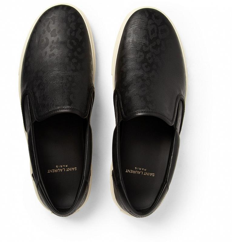 Saint Laurent Black Slippers