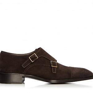 TOM FORD Brogue Double Monkstrap