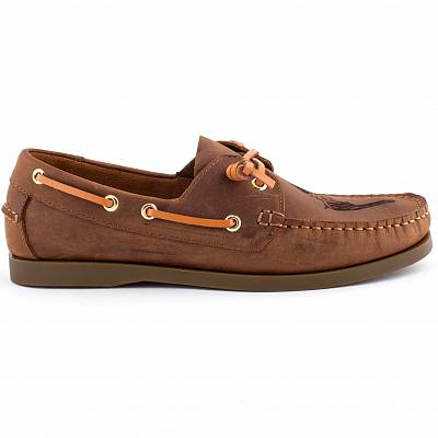 CORNERY Boat Shoes GUN (top-sider)