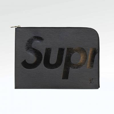 Папка Supreme X Louis Vuitton Pochette Jour GM Black