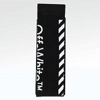 Носки Off White Diagonal Stripe Socks Black