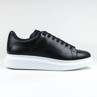 Кроссовки Alexander Mcqueen Raised Sole Low Top Black Sneaker