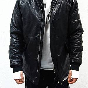 11 by BBS Leather Jacket