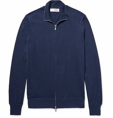 BRUNELLO CUCINELLI Zip-Up Cardigan