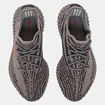 Yeezy Boost 350 V2 Grey/Bold Orange/Dark Grey