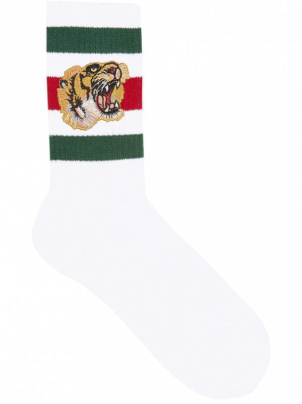 Gucci tiger socks