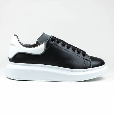 Кроссовки Alexander Mcqueen Raised Sole Low Top Black Reflective Sneaker