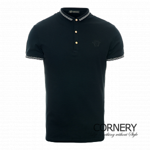 Versace Polo Black